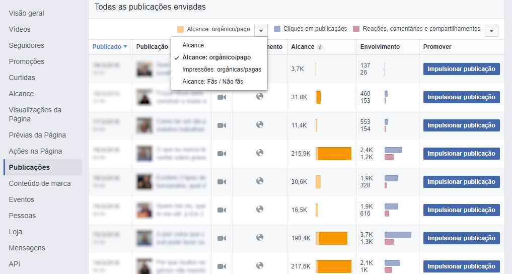 facebook insights pagina metrica 9