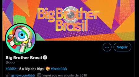 Twitter BBB21 Big Brother Brasil (@bbb)